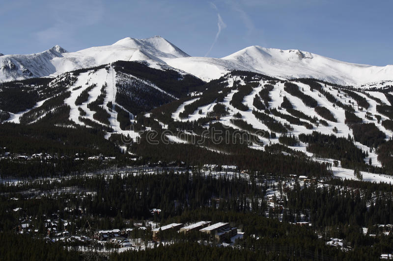 Breckenridge, Colorado foto de stock