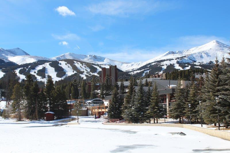 Breckenridge, Colorado imagen de archivo
