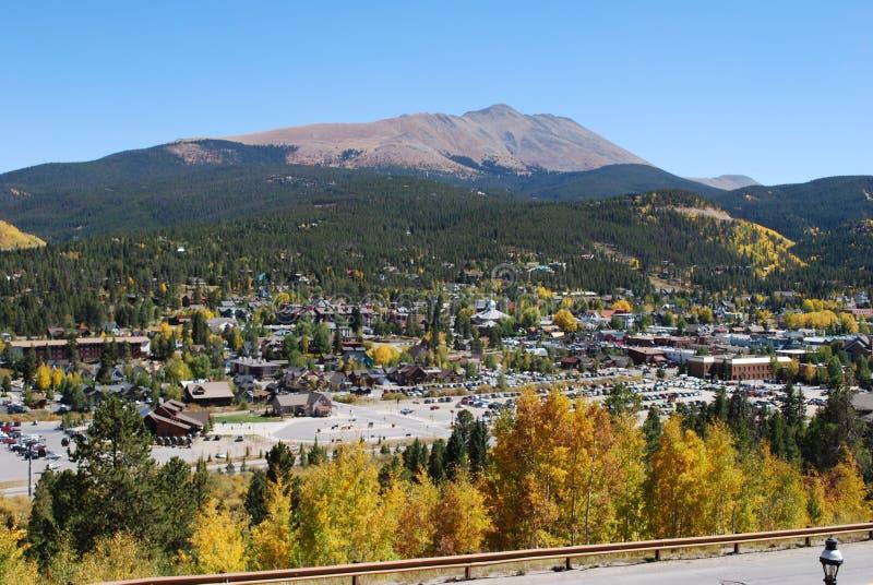 Breckenridge, Colorado - caída imagenes de archivo