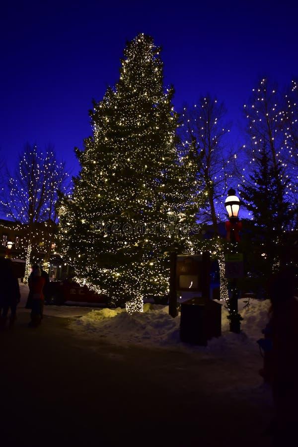 Breckenridge, Colorado, U.S.A.: 28 gennaio 2018: ventottesima scultura di neve internazionale annuale ChampionshipsN fotografia stock libera da diritti