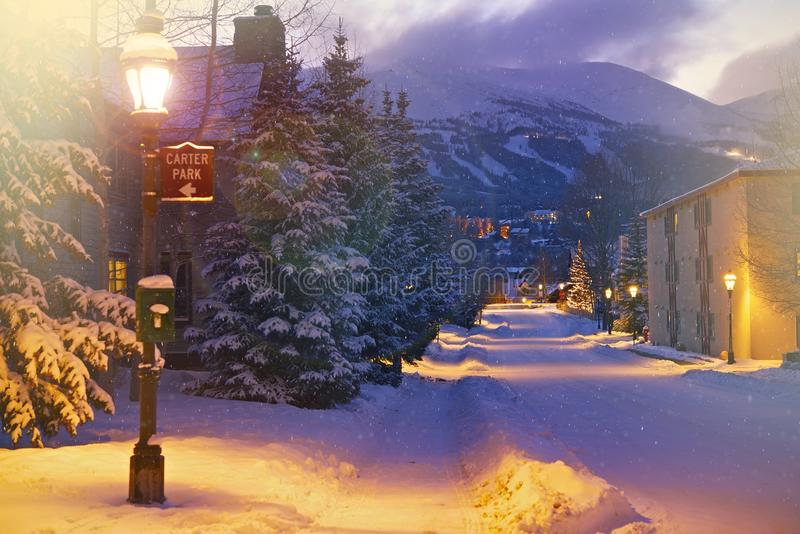 Breckenridge Road royalty free stock images