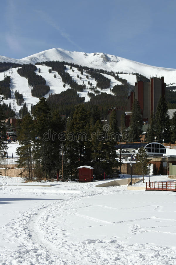 Breckenridge Ski Resort royalty free stock photography