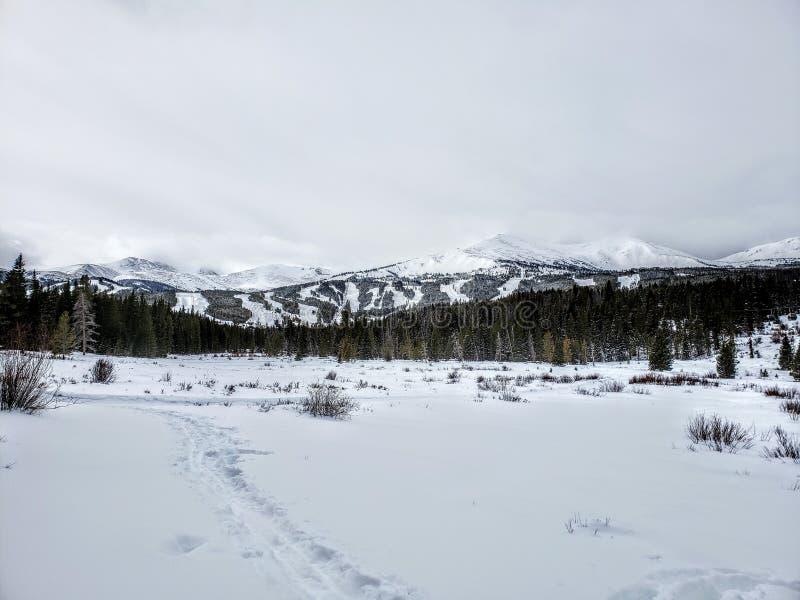 Breckenridge Ski Resort in winter stock photos
