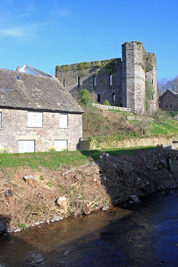Brecon Castle στοκ εικόνα