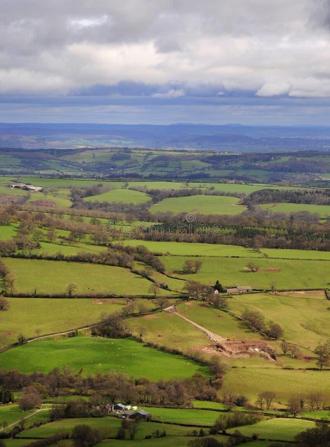 Brecon Panoramic Royalty Free Stock Photos