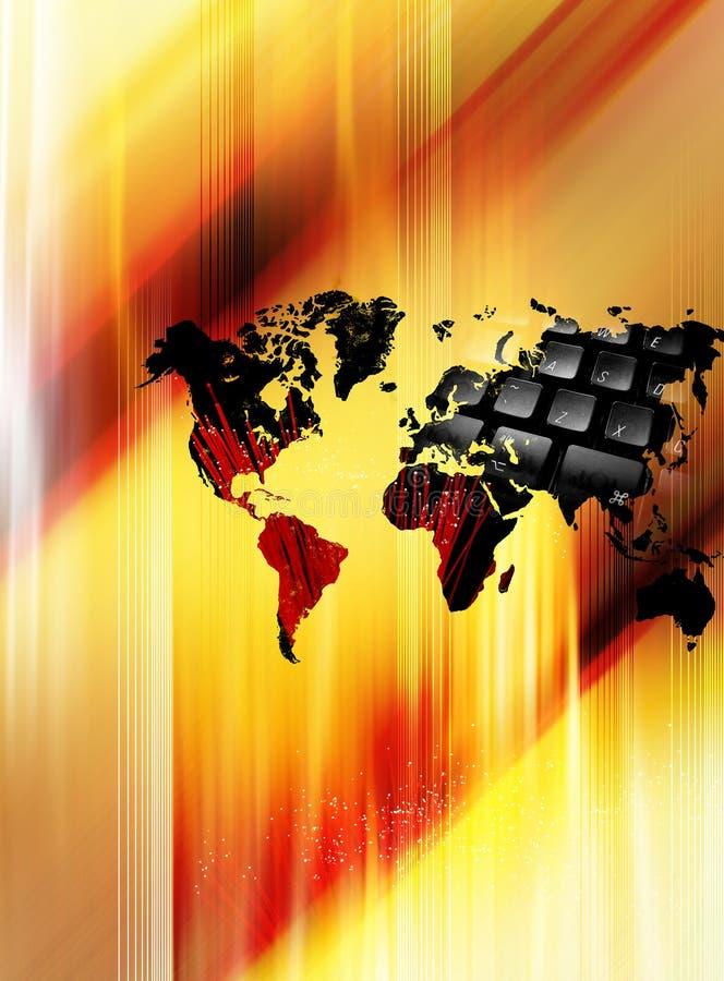 bred värld för begreppsrengöringsduk