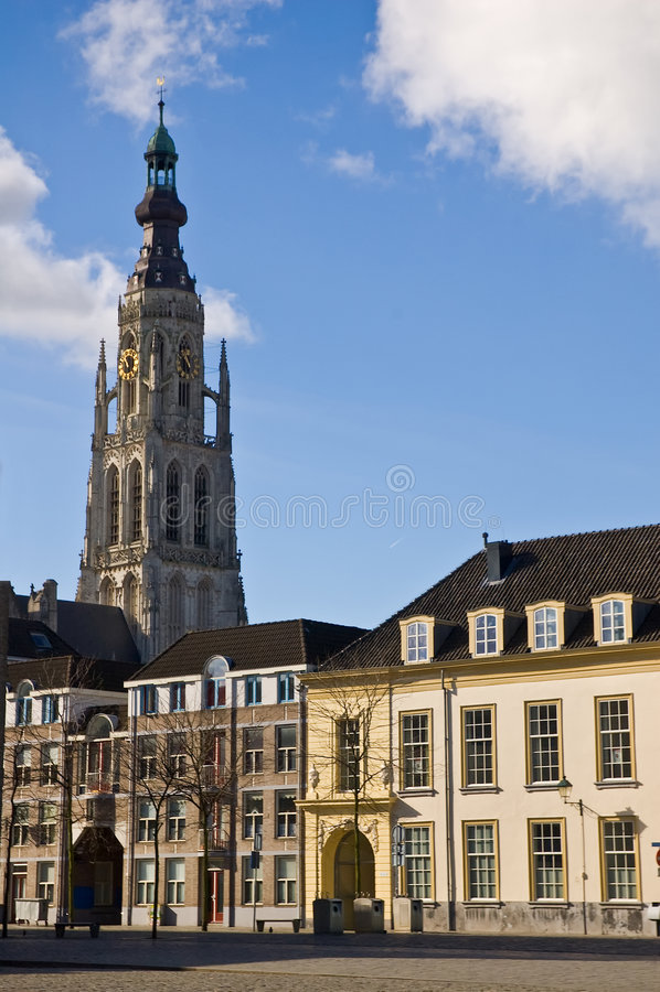 Breda stock afbeelding