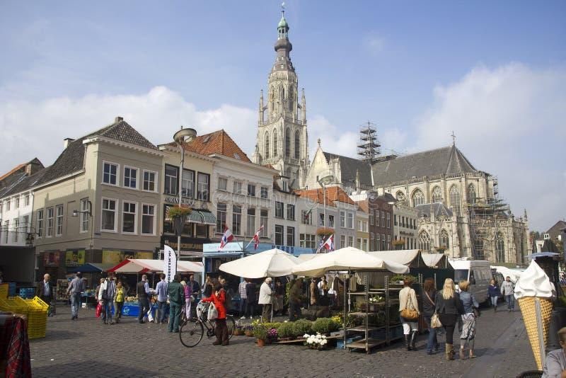 Breda, Holland foto de stock