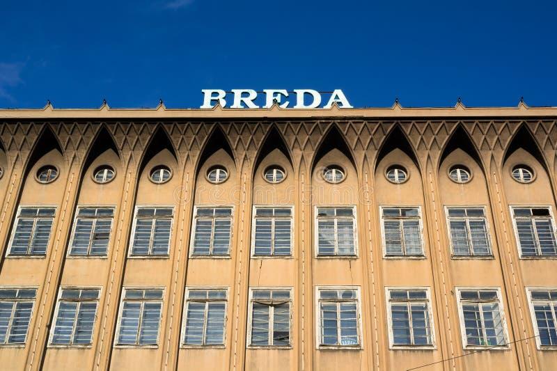 Breda, Opava, Tsjechische Republiek/Czechia stock fotografie