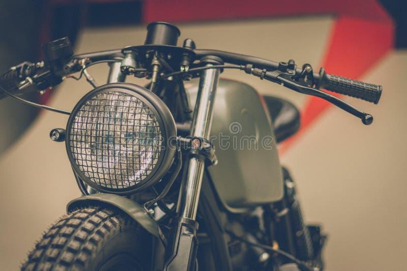 BREDA, PAÍSES BAIXOS - 26 DE AGOSTO DE 2018: Os motores estão brilhando em um Dut foto de stock