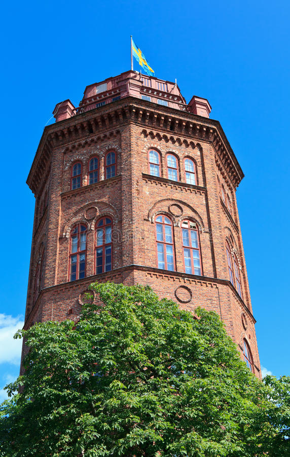 Bredablick tower royalty free stock images