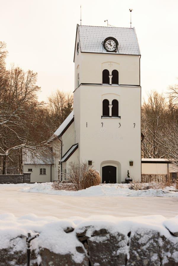 Bredakra kyrka arkivbilder