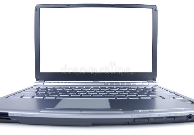 Brede Laptop royalty-vrije stock foto