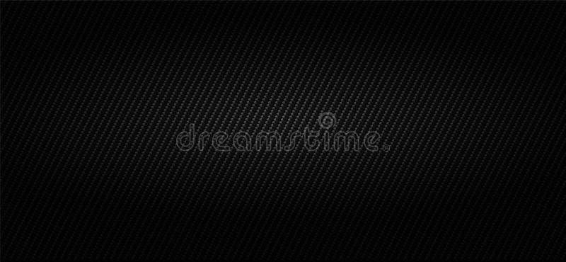 Brede zwarte koolstof industriële achtergrond vector illustratie
