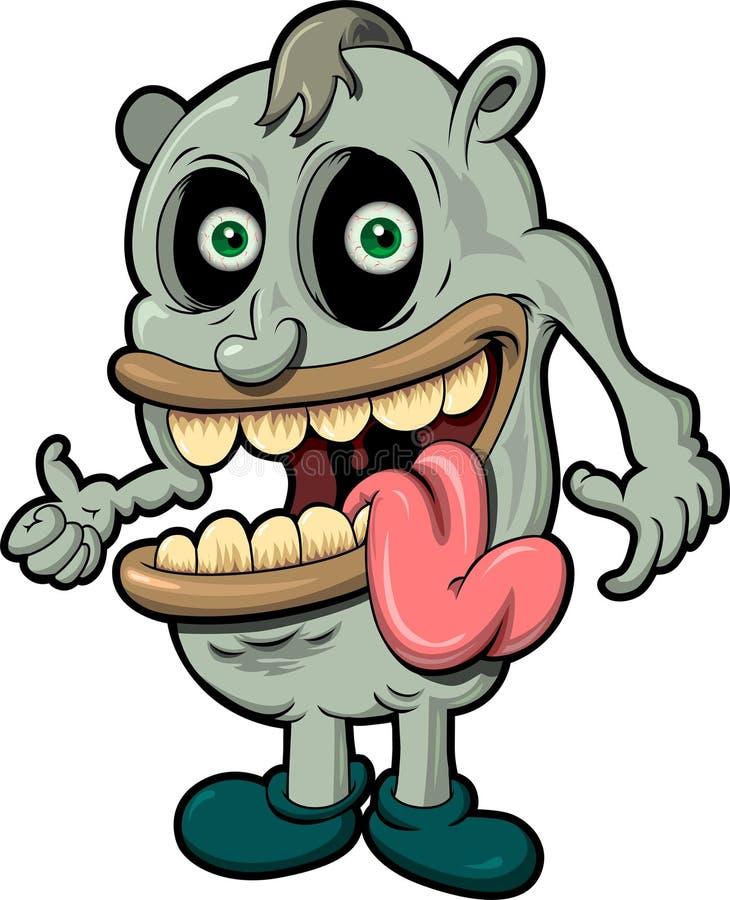 Breed Eyed Monster Stock Afbeeldingen