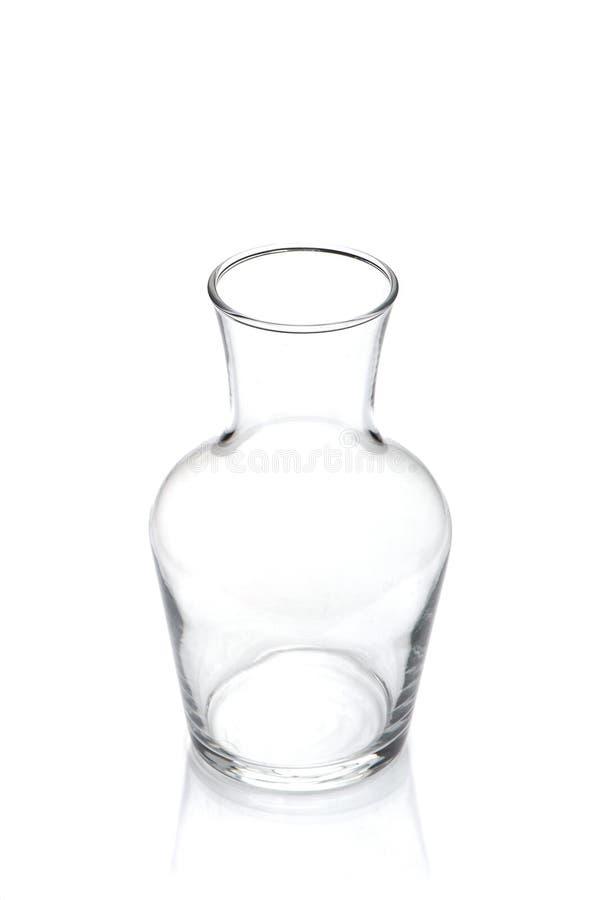 Breekbaar glas transparant schip royalty-vrije stock afbeeldingen