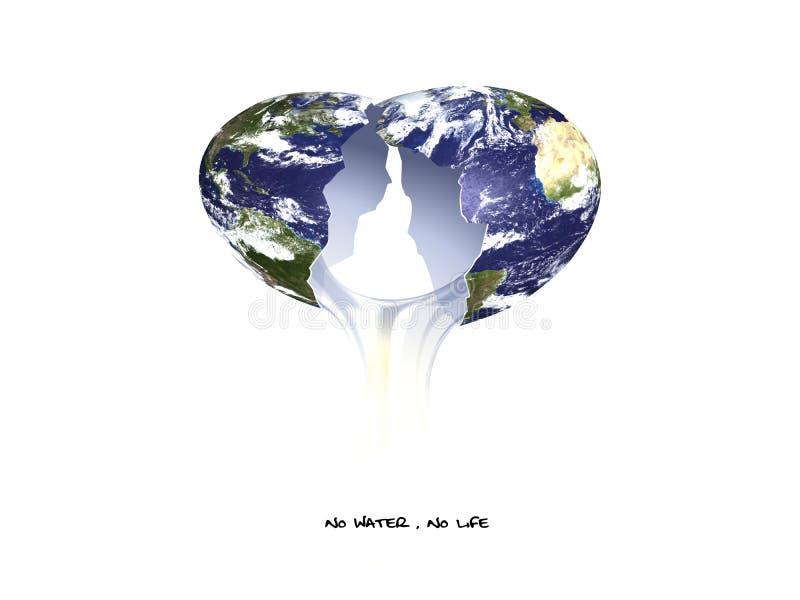 Breekbare aarde stock foto