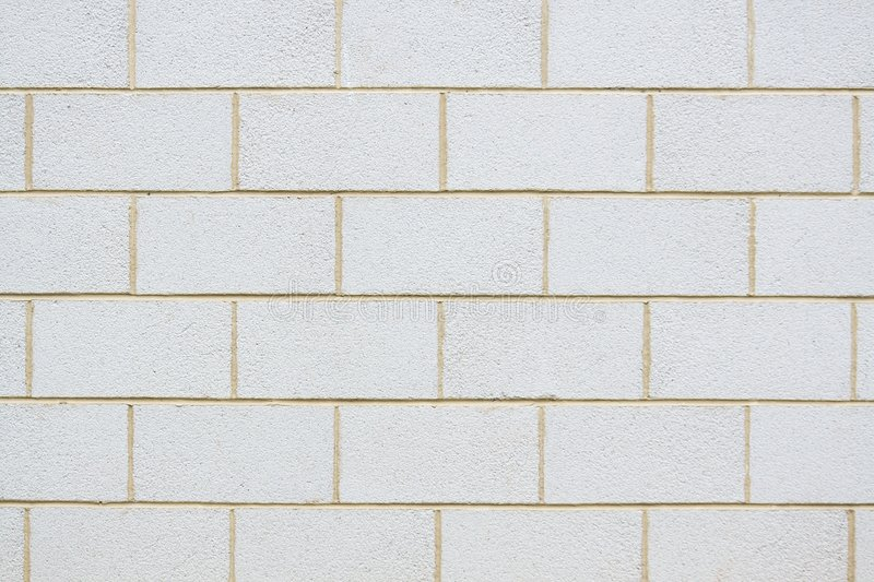 Breeze Block Wall stock photography