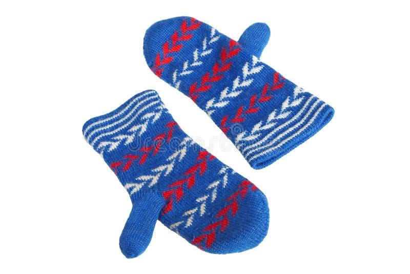 Brei de handschoenen van Vrouwen stock foto