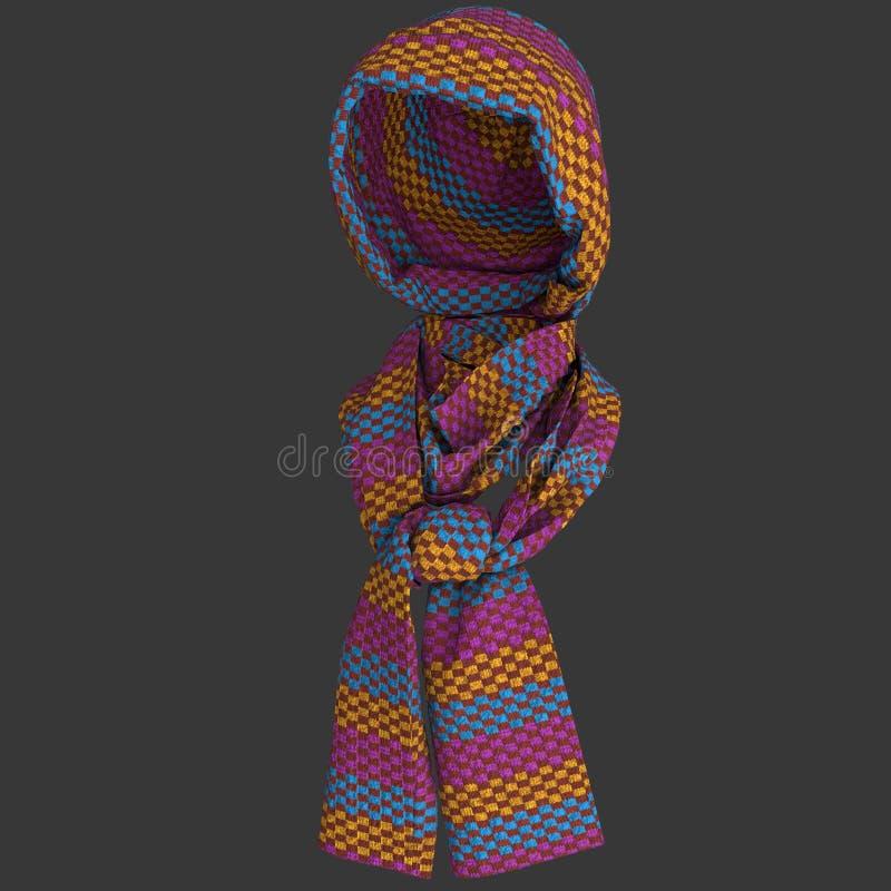 Brei GLB en sjaal stock foto