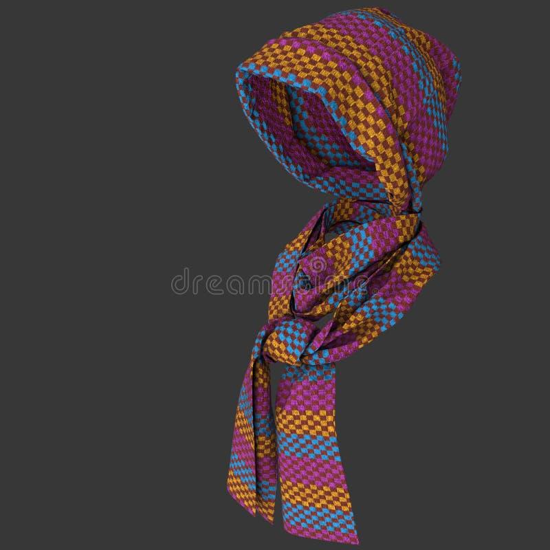 Brei GLB en sjaal stock fotografie