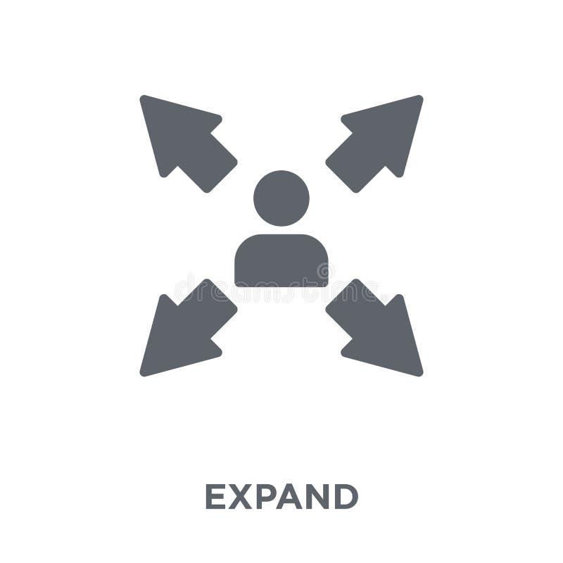 Breid pictogram van inzameling uit vector illustratie