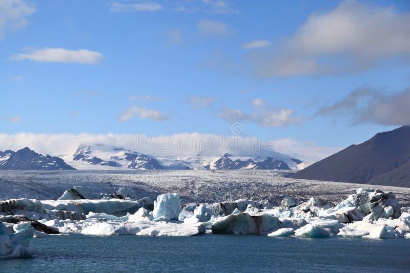 Breidamerkurjokull Glacier, Iceland stock photography