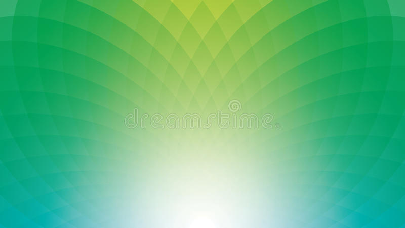 Breitbildwebseiten- oder -geschäftsdarstellungszusammenfassungsgrün b stock abbildung