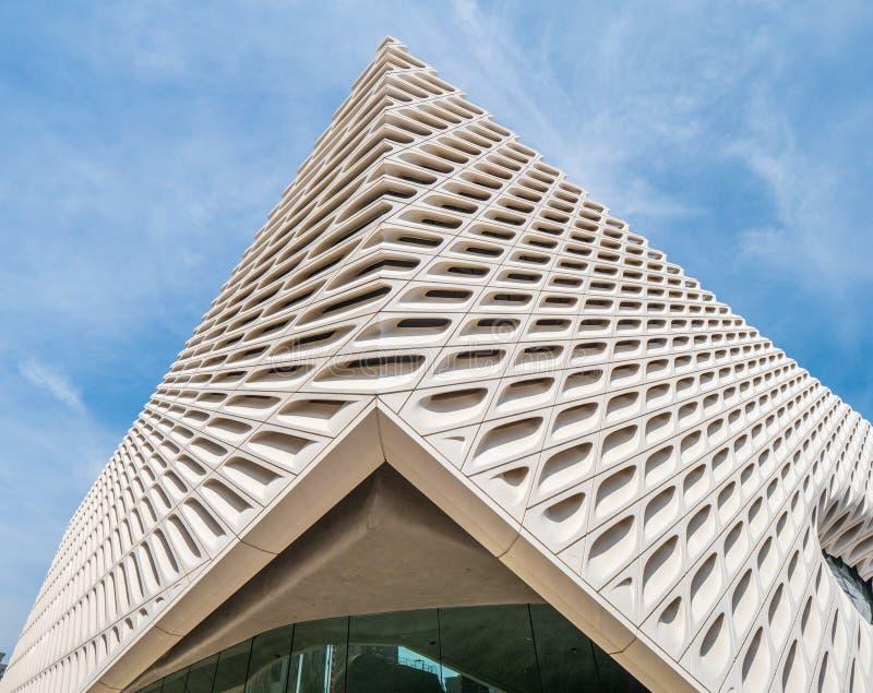 Breite Art Museum an Los Angeles-Stadtzentrum - KALIFORNIEN, USA - 18. M?RZ 2019 stockbilder