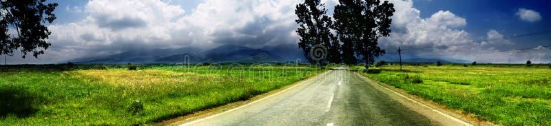 Breite Landschaft stockfoto