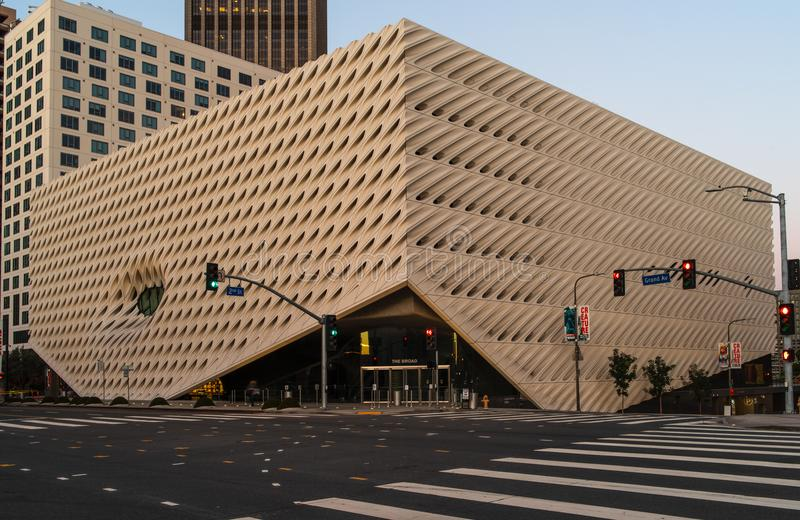 Breite zeitgenössische Art Museum im LA stockfoto