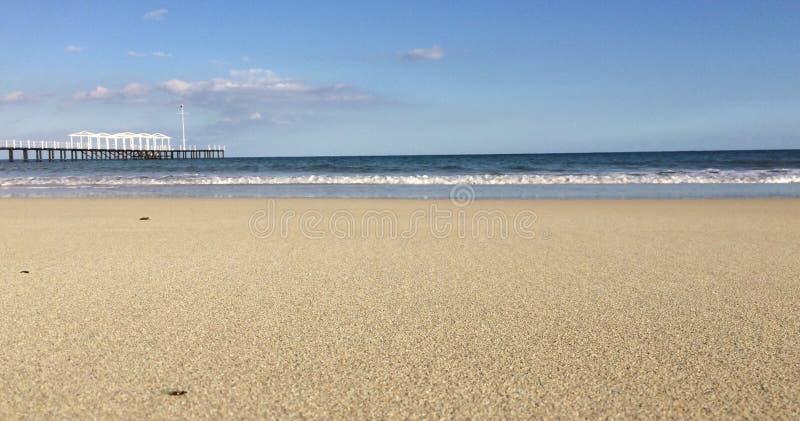 Breiter Strand stockbild
