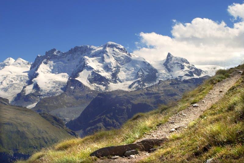 breithorn Szwajcarii obrazy royalty free