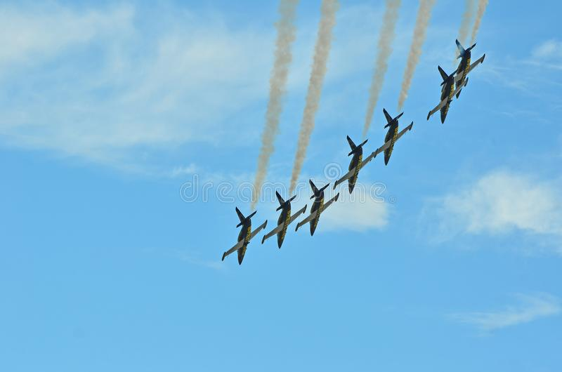 Breitling Air Show royalty free stock images