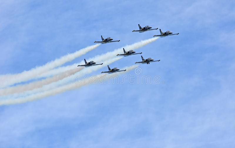 Breitling Air Show royalty free stock photography