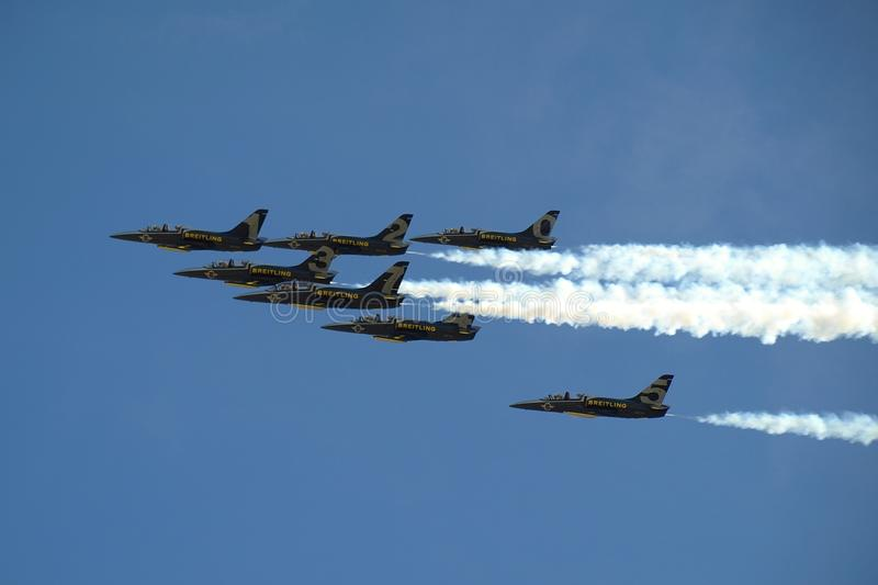 Breitling Jet Team stock photography