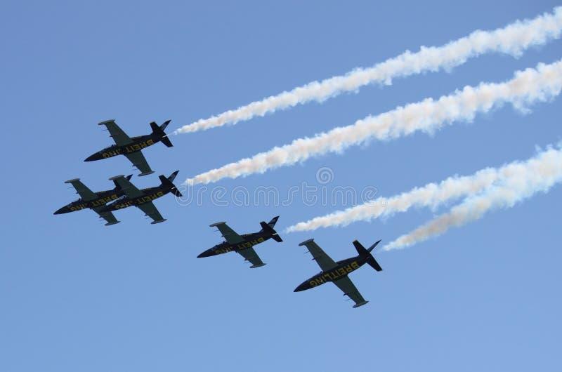 Breitling Jet Team lizenzfreies stockbild