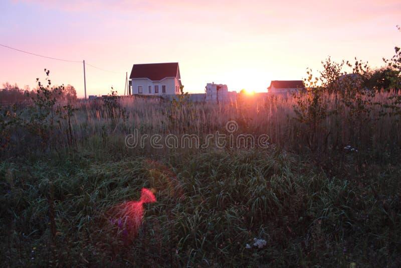 Brekende Dawn stock foto
