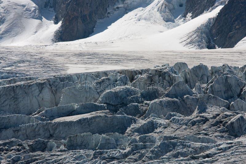 Brekende gletsjer royalty-vrije stock foto