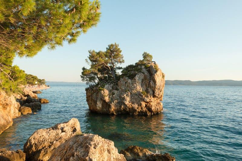 Brela, Makarska Riviera royalty free stock image