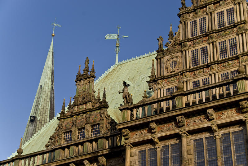 Bremen. Architectural detail in Bremen, Germany stock image