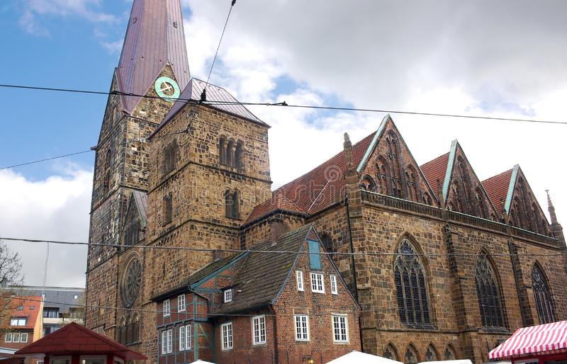Bremen - Church of Our Lady - V - stock photos
