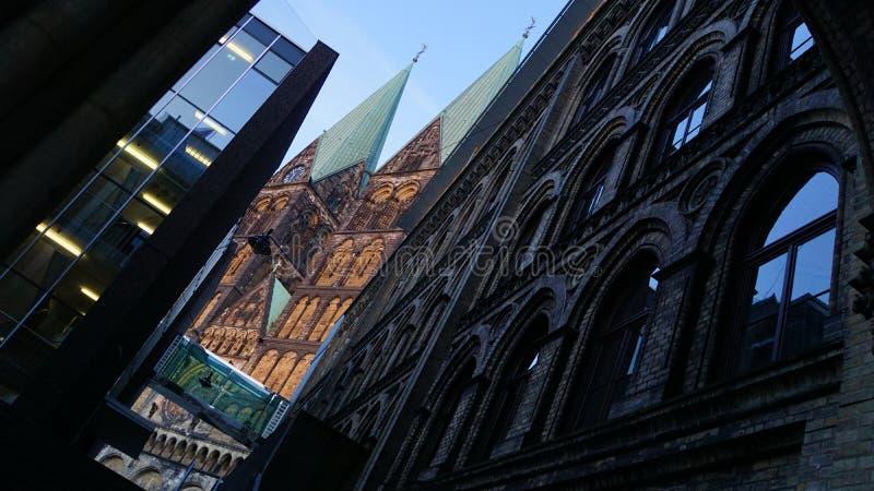 Bremen church royalty free stock photo