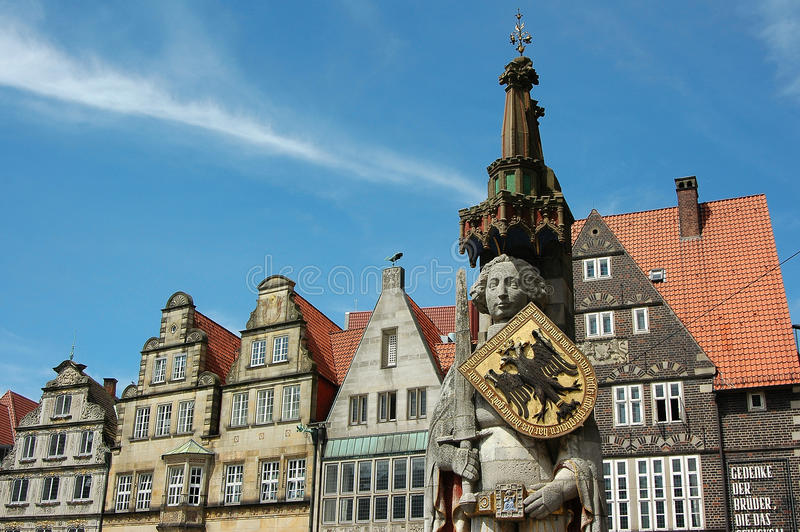Bremen. The City of Bremen in germany royalty free stock photography