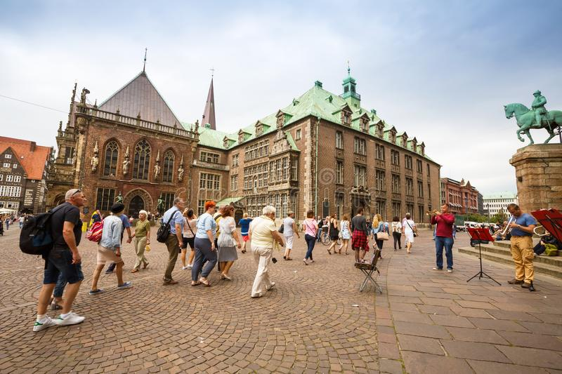 Bremen in Germany royalty free stock photography