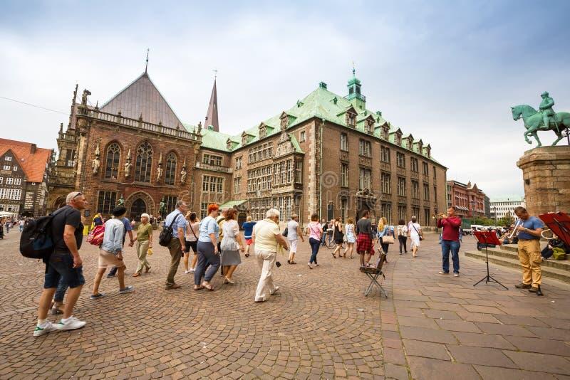Bremen i Tyskland royaltyfri fotografi