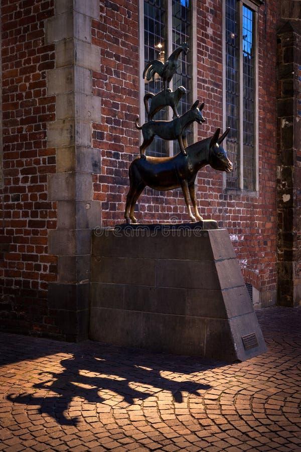 Bremen-Stadtmusiker stockbilder