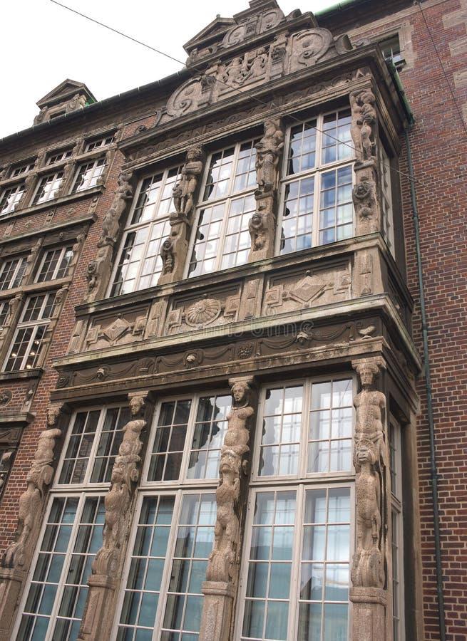 Bremen - townhalll - tyły - Ja - obraz stock