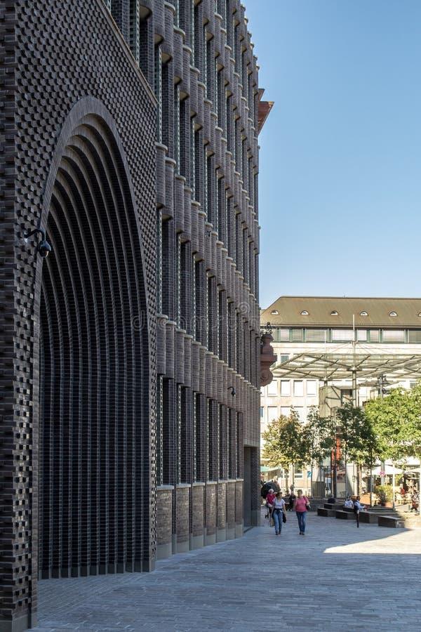Bremer Landesbank. Architektur stock images