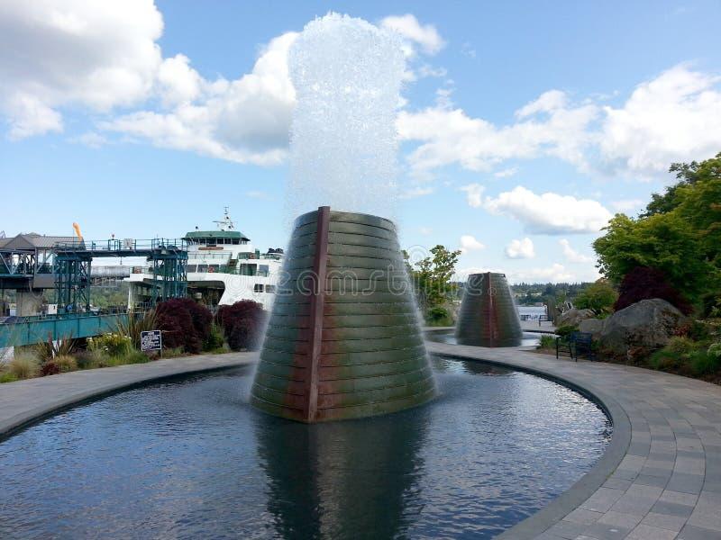 Bremerton sjö- ubåtmonument fotografering för bildbyråer